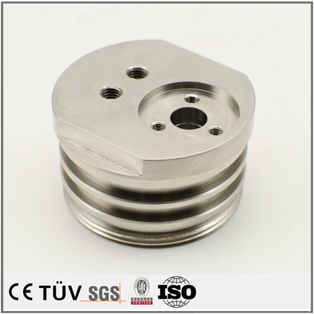 鋼材、産業用精密機械部品、旋盤、マシニングセンタ、ワイヤーカットなどの先進機械加工