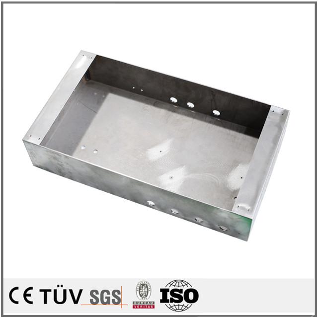 精密板金セット加工、曲げ加工技術