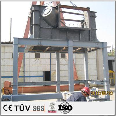 運送機用の大型箱体溶接部品