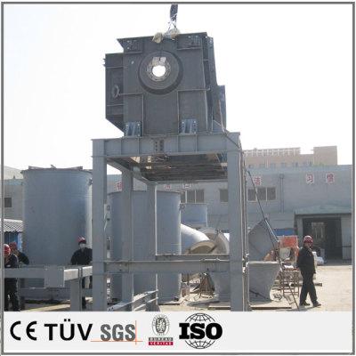 運送機用の大型鋳造溶接部品