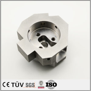 Carbon steel CNC machining center fabrication service processing parts