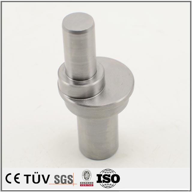 高精密クランクシャフト、DMG両主軸複合旋盤五軸連動加工機を加工します