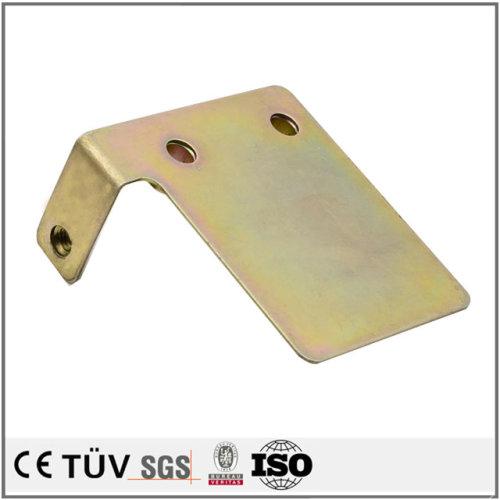 SUS304材質、表面亜鉛メッキ処理、曲げ加工技術