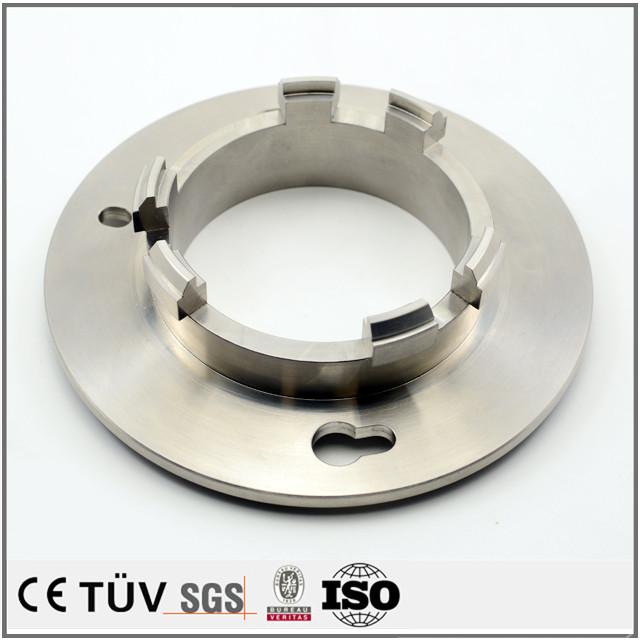 DMG両主軸複合旋盤五軸連動加工機で生産機械の部品を加工しました