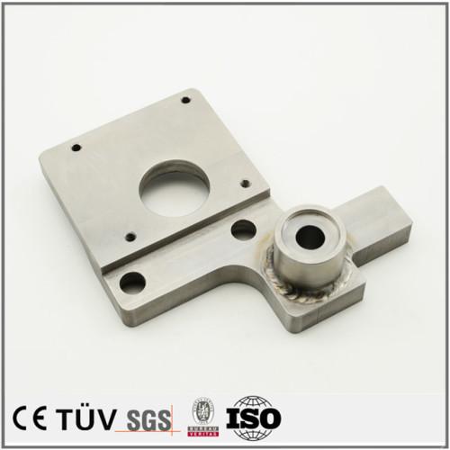 生成機、充填機の精密小型部品、品質溶接製品