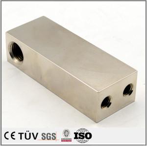 SS400材質、電解めっきニッケル処理