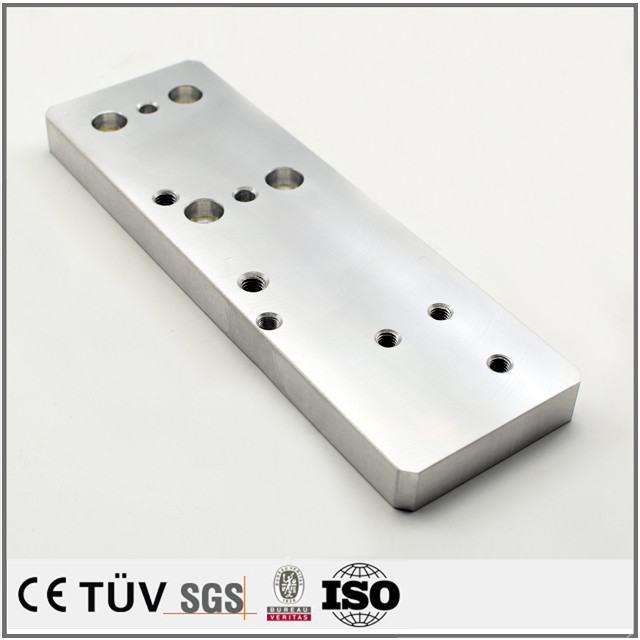 Well known OEM made aluminum milling process CNC working parts