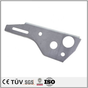 High precision laser cutting aluminum parts with professional sheet metal cutting machine