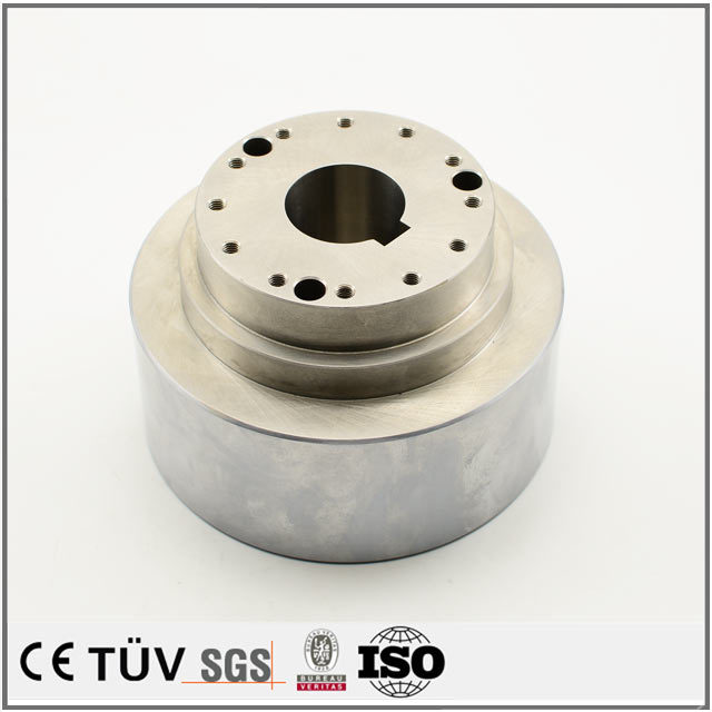 China supplier OEM made carbon steel machining center process working parts