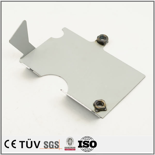 Factory custom aluminum alloy sheet metal bending processing working part