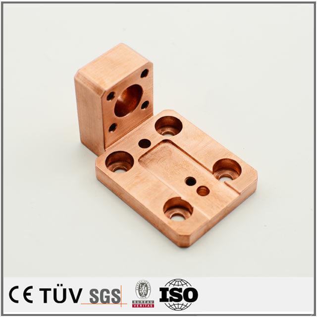 搬送設備の青銅、C1020、C2801素材、銅部品の完成品