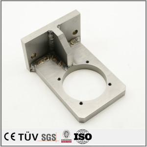 DMG両主軸複合旋盤五軸連動加工機を精密加工溶接部品