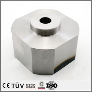SKD61材質、高周波焼き入れ熱処理、焼き入れ後研磨