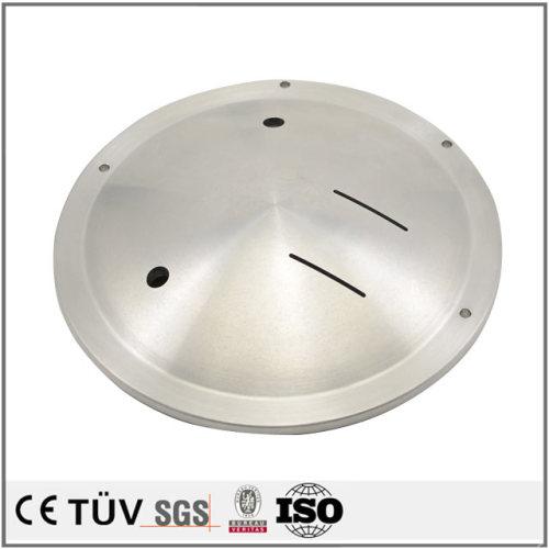 品質アルミ部品、DMG両主軸複合旋盤五軸連動加工機加工