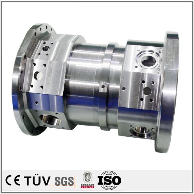 DMG両主軸複合旋盤5軸連結加工機で加工された自動化設備、駆動機械の部品