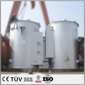 大型円筒状シール設備の溶接加工