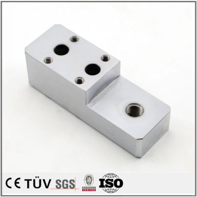 精密機械のパーツ、表面硬質クロームメッキ処理