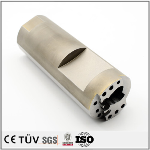 SKD61材質、NC旋盤で加工したパーツ、調質熱処理