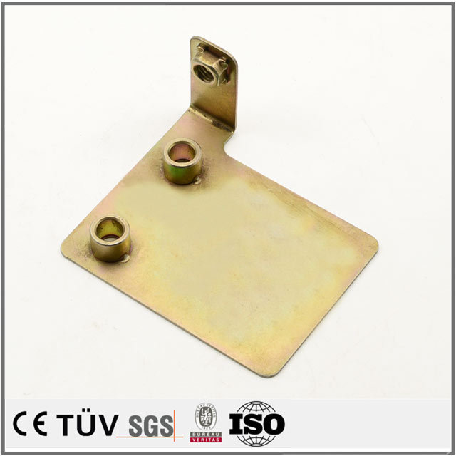 板金部品、プレス、曲げ、表面亜鉛メッキ処理