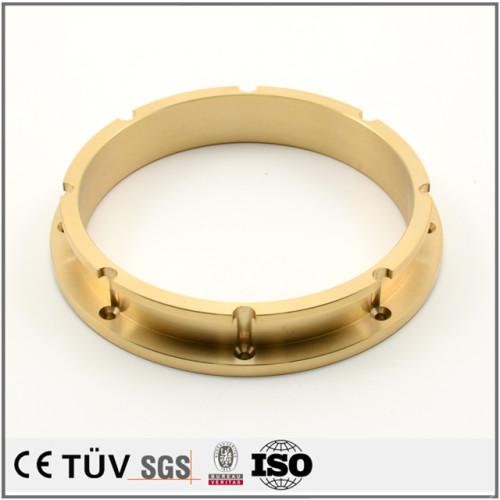 真鍮材、NC旋盤加工、大連金属部品メーカ