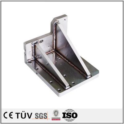 精密金属小型溶接部品,包装機、印刷機など機械の部品