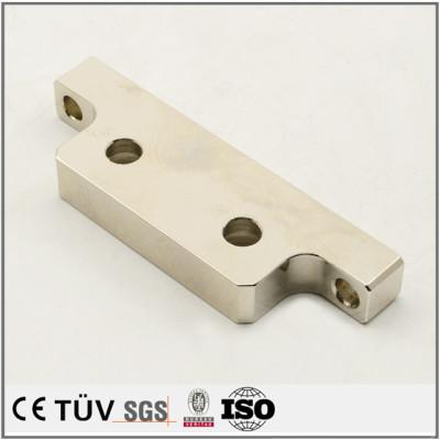 電解めっきニッケル表面処理、マシニングセンタ、ワイヤーカットなどの生産設備加工、精密金属部品