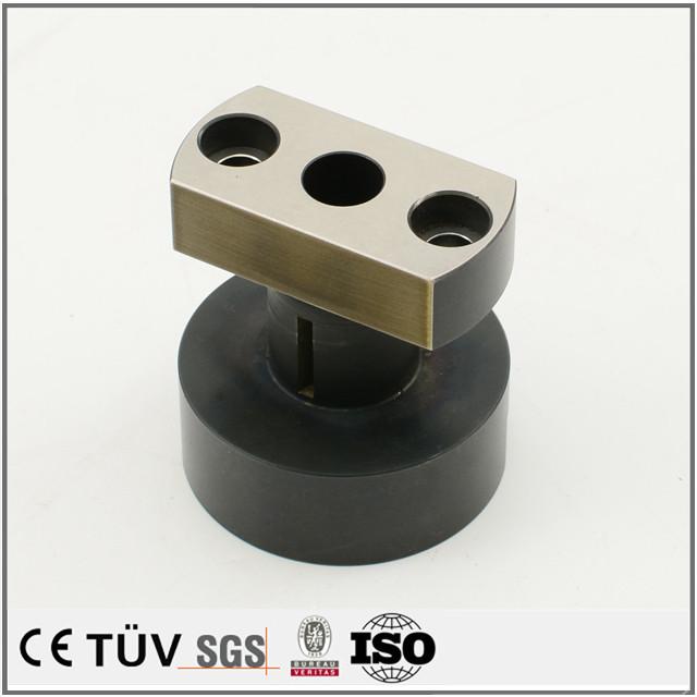 SKD11材質、高精度工作機械部品加工、焼き入れ研磨加工