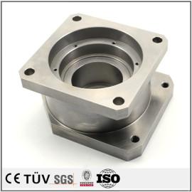 精密SUS304部品加工、旋盤、マシニングセンター、ワイヤカードなど高精度機械