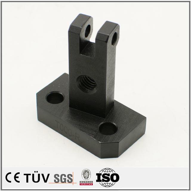 金属表面処理対応加工、黒染め金属部品