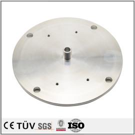 CNC旋盤の製品、A7070/6061材質、バフ研磨処理