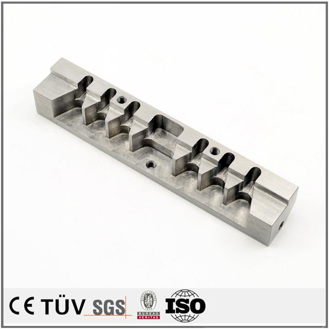 SUS材、精密金属部品加工、NC旋盤、ワイヤーカット、フライス盤による切削加工、