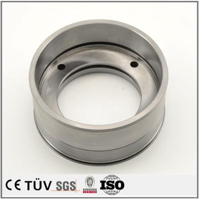SUS材質、旋盤加工製品、マシニングセンターの高精度設備、精密金属部品