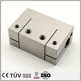 旋盤加工したSUS304精密部品/精密機械部品/ワイヤー加工/マシニングセンター加工