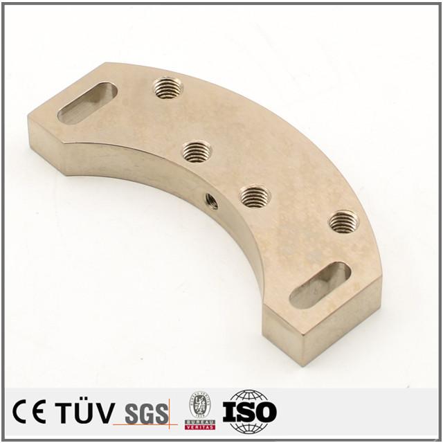 表面処理無電解ニッケルめっき処理 機械精密加工 高精密CNC加工 機械パーツ加工