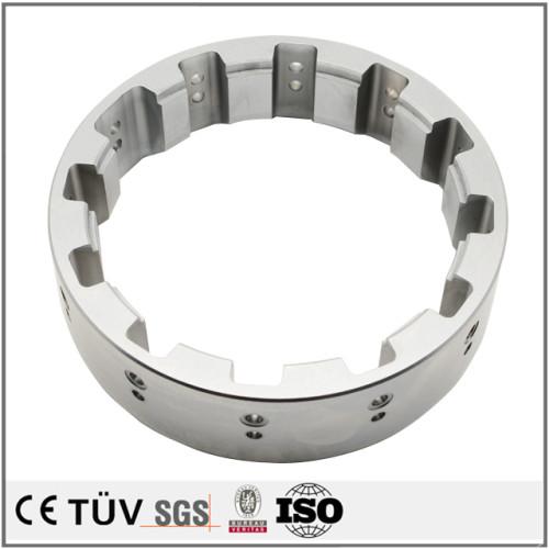大連高品質金属加工部品 旋盤加工したSUS304精密部品 表面硬質クロムメッキ処理部品
