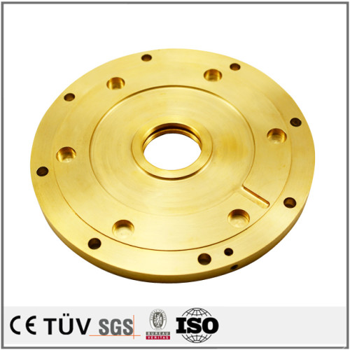 有色銅金属加工、マシニングセンター、フライス盤など高精度設備