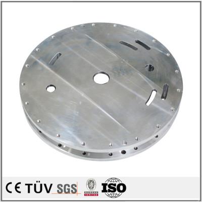 アルミ材質の高精密部品,羽根車専門加工、高精密電機用バフ部品