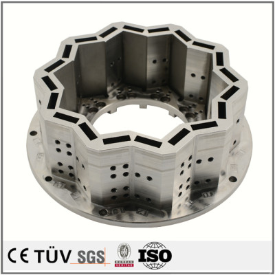 SUS440C、S45C材質、研磨バフ、表面メッキ処理などの高精密機械部品