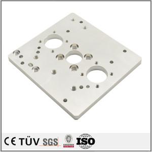 穴あけ研磨加工、アルミ板の精加工、大連専門金属機械加工