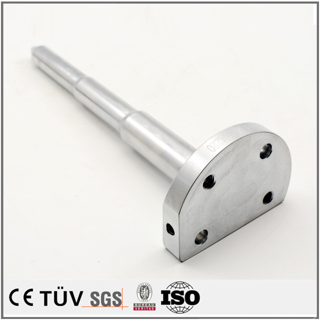 硬質クロムメッキなど処理加工の高精密機械部品、ステンレス材質
