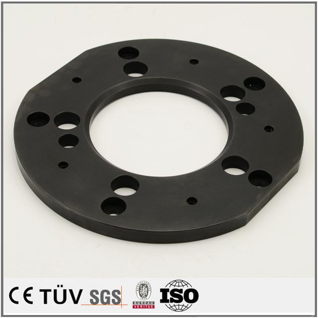鉄、アルミ、ステンレスなどの金属機械部品黒染め処理、研磨処理