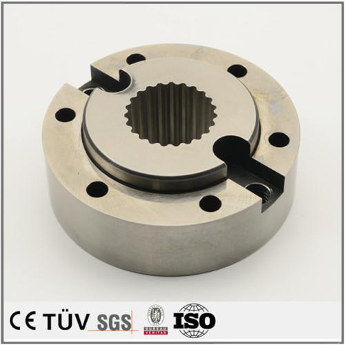 高周波焼入処理、焼入れ後研磨、カット処理などの高精密金属部品
