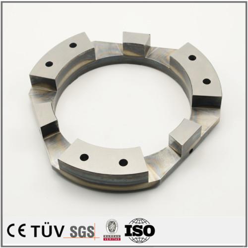 精密金属部品、高周波焼入完成品と半完成品、工業用の部品
