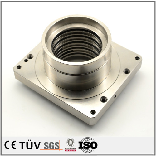 NC旋盤加工、ワイヤカードなど設備加工、表面バフ、アルマイト処理など高品質金属機械