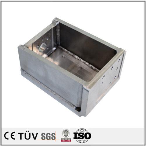 包装機、印刷機、組立機用などの超精密溶接部品