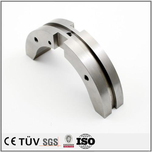 高精密ステンレス板、管の加工、フライス盤で、ワイヤカードなど設備加工