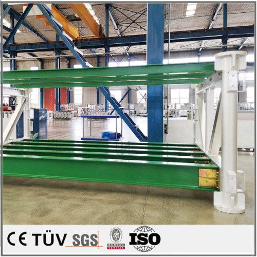 生産設備、機械の大型溶接部品、大連専門技術メーカー