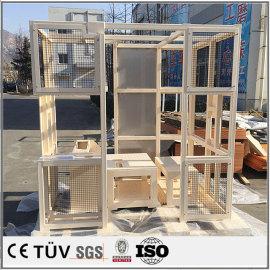 大型機械溶接部品、工業用の高精密設備