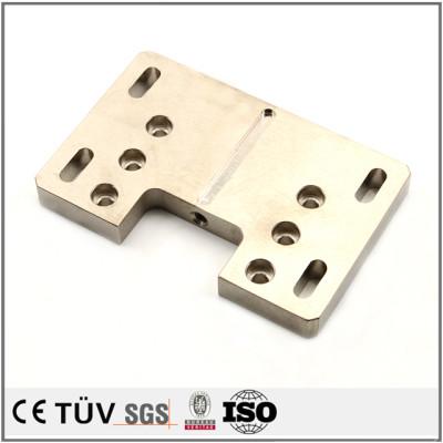 精密無電解ニッケルめっき部品、NC旋盤加工、フライス盤加工、高品質表面処理機械パーツ