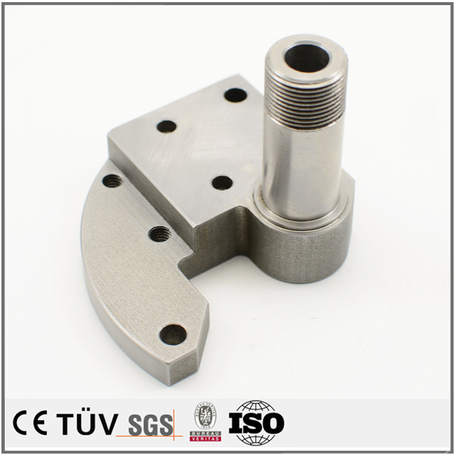 精密金属パーツ、ステンレス材質、表面バフ、メッキ処理などの高品質機械部品